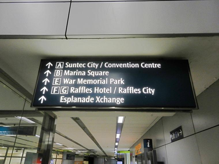 エスプラネード駅出口E